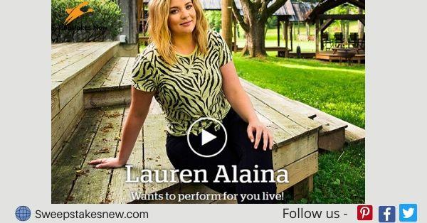 Lauren Alaina Sweepstakes