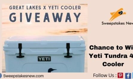 Great Lakes x YETI Cooler Giveaway