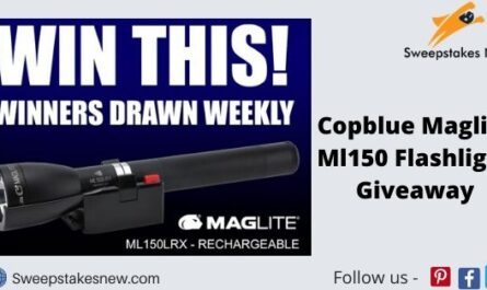 Copblue Maglite Ml150 Flashlight Giveaway