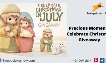 Precious Moments Celebrate Christmas Giveaway