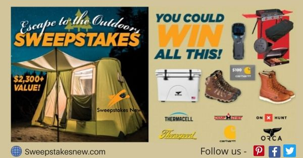 Powderhook Escape To The Outdoors Sweepstakes