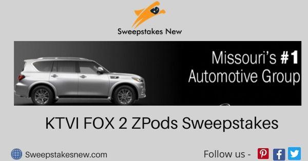 KTVI FOX 2 ZPods Sweepstakes
