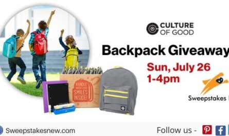 Verizon Wireless Backpack Giveaway