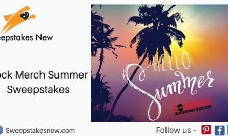 Rock Merch Summer Sweepstakes