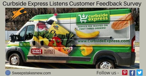 Curbside Express Listens Customer Feedback Survey