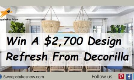 Decorilla Summer Refresh Sweepstakes