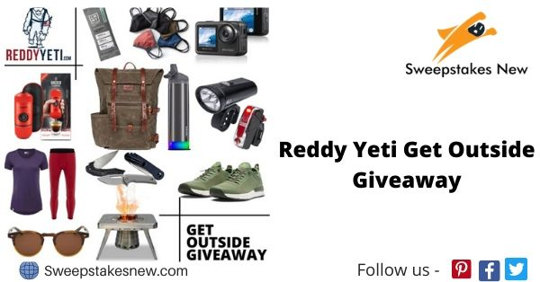 Reddy Yeti Get Outside Giveaway