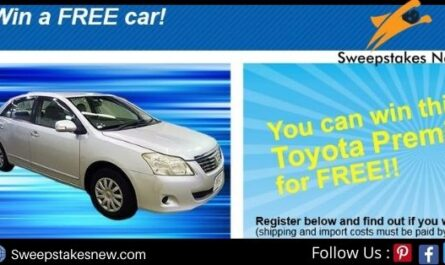 Japanese Vehicles Free Car Giveaway