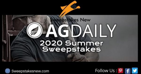 Agdaily Ultimate Summer Sweepstakes