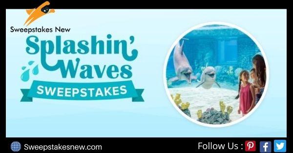 Undercover Tourist Splashin Waves Sweepstakes