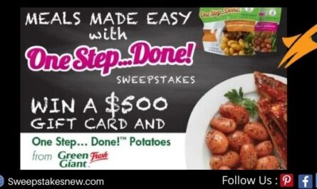 Meals Made Easy With One Step Done Sweepstakes