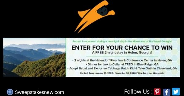 Compass Media Retreat And Reconnect Sweepstakes