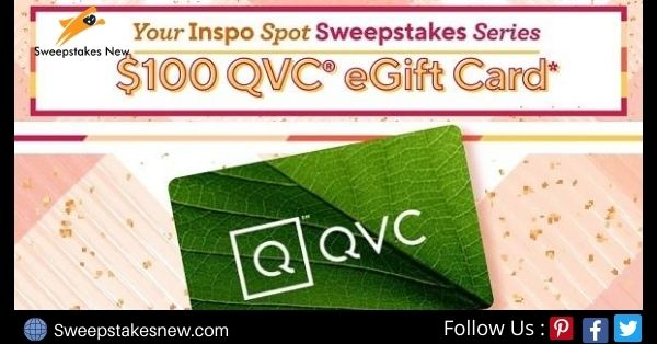 QVC $100 Gift Card Giveaway