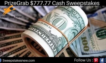 PrizeGrab $777.77 Cash Sweepstakes