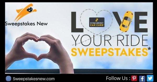 Synchrony Bank Love Your Ride Sweepstakes