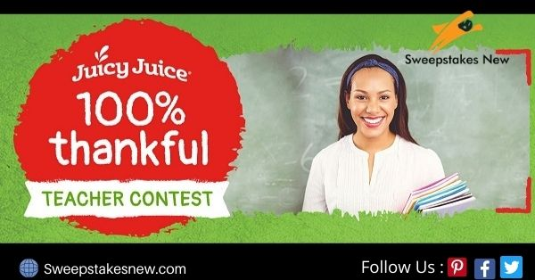 Juicy Juice Thankful Teacher Contest