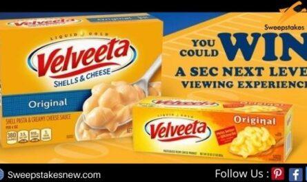 Velveeta SEC Sweepstakes and Instant Win Game