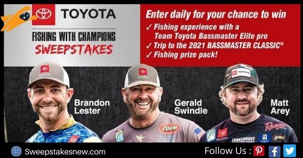 Bassmaster Toyota Fishing Sweepstakes
