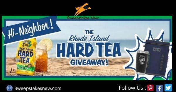 Rhode Island Hard Tea Tumber And Cooler Giveaway