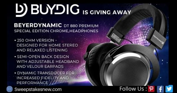 Beyerdynamic Headphones Giveaway
