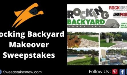 Rocking Backyard Makeover Sweepstakes