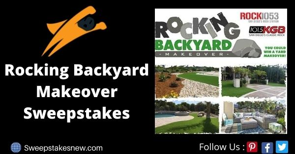 Rocking Backyard Makeover Sweepstakes