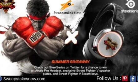 Street Fighter V SteelSeries Summer Giveaway