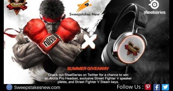 Street Fighter V SteelSeries Summer Giveaway