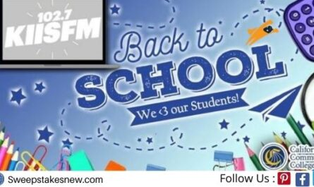 KIIS-FM Back To School Sweepstakes