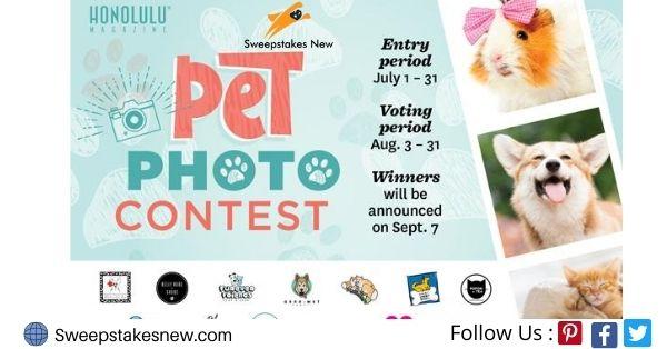 Honolulu Magazine Pet Photo Contest