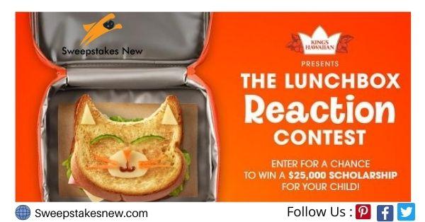 King's Hawaiian Lunchbox Reaction Contest