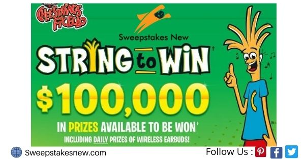 Cheestrings String to Win Contest