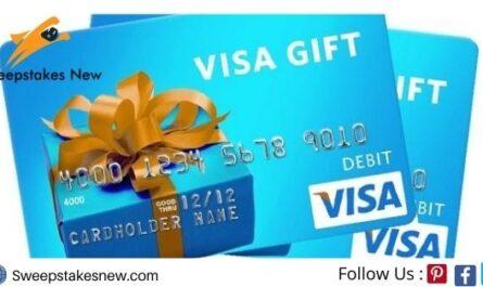 Visa Gift Card Giveaway