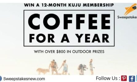 Kuju Coffee For A Year Giveaway