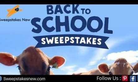 Stonyfield Back to School Sweepstakes