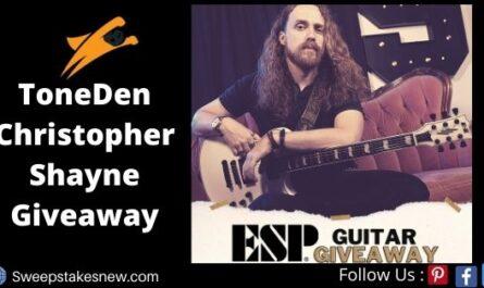 ToneDen Christopher Shayne Giveaway