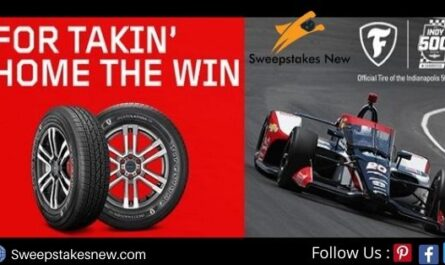 Firestone and Tire Rack Indy 500 sweepstakes