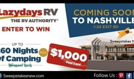 Lazydays RV Camping Sweepstakes