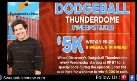 Discovery Dodgeball Thunderdome Sweepstakes
