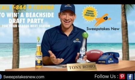 Corona Football Sweepstakes and Instant Win Game