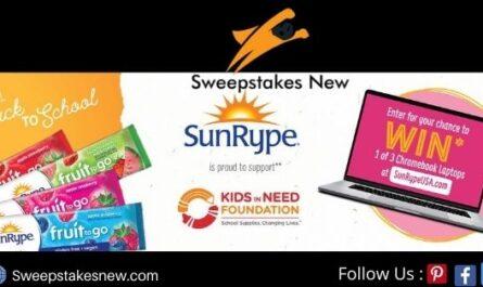 SunRype Kids In Need Sweepstakes