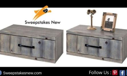 Woodwaves Gray Floating Nightstand Giveaway