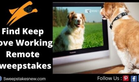 Find Keep Love Working Remote Sweepstakes