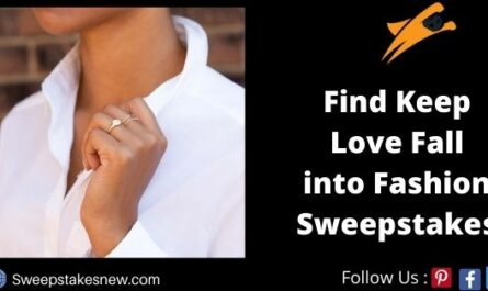 Find Keep Love Fall into Fashion Sweepstakes