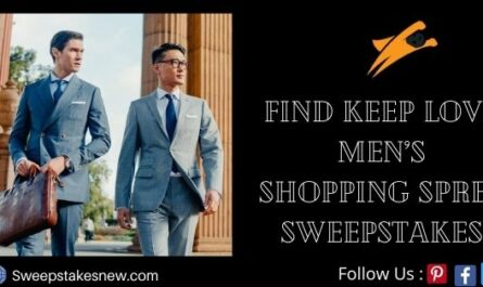 Find Keep Love Men's Shopping Spree Sweepstakes