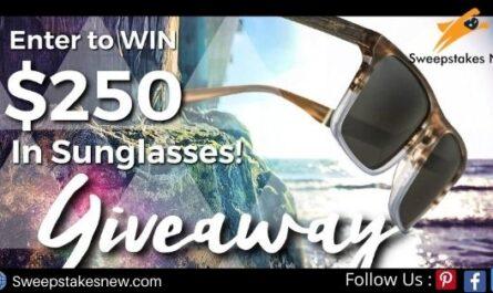 Cali Life Co $250 Sunglasses Giveaway