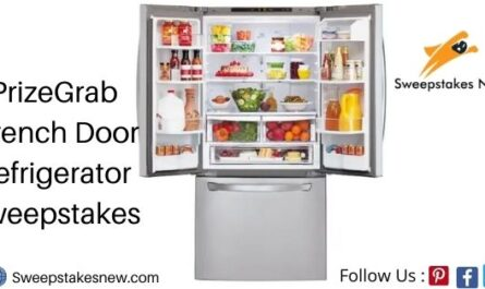 PrizeGrab French Door Refrigerator Sweepstakes