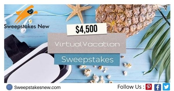Frankly Media Virtual Vacation Sweepstakes