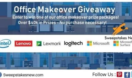 Connection Office Makeover Sweepstakes