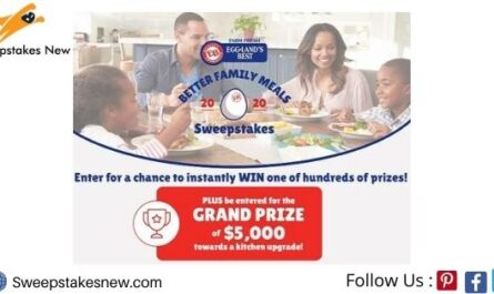 Eggland's Best Better Family Meals Instant Win Sweepstakes